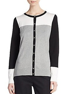 Calvin Klein Blocked Cardigan