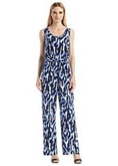 Calvin Klein Blurry Print Jumpsuit