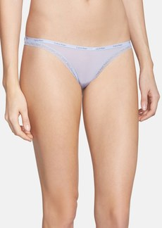 Calvin Klein 'Bottoms Up' Thong
