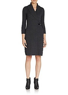 Calvin Klein Cable Sweater Dress