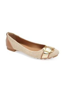 Calvin Klein 'Calayla' Buckle Embellished Ballet Flat (Women)
