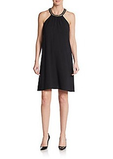 Calvin Klein Chain Detailed Shift Dress