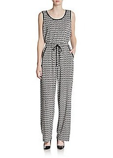 Calvin Klein Chevron Print Jumpsuit