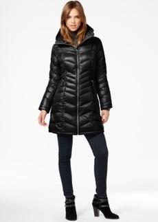 Calvin Klein Chevron-Quilted Down Coat
