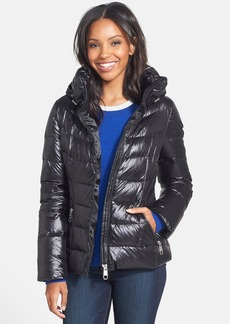 Calvin Klein 'Cire' Hooded Down Jacket (Online Only)