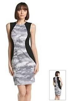 Calvin Klein Cloud Panel Sheath Dress