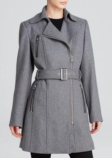 Calvin Klein Coat - Asymmetrical Wool