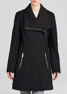 Calvin Klein Coat - Asymmetrical Wool