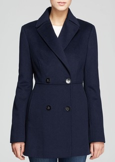 Calvin Klein Coat - Double Breasted Notch Collar