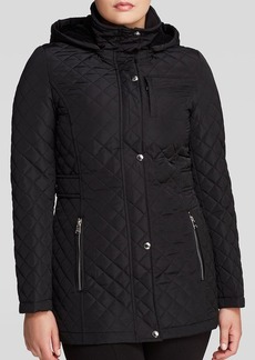 Calvin Klein Coat - Hooded Quilted