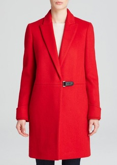 Calvin Klein Coat - Notch Collar Wool