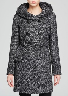 Calvin Klein Coat - Short Collar Wool