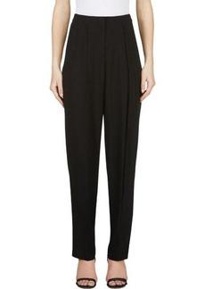 Calvin Klein Collection Black Crepe Monty Enver Trousers