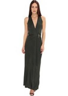 Calvin Klein Collection Long Wrap Dress