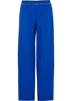 Calvin Klein Collection Telma stretch-crepe wide-leg pants