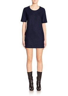 Calvin Klein Collection Tolly Wool Jersey Shift