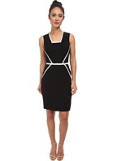 Calvin Klein Color Block Dress CD5X1744