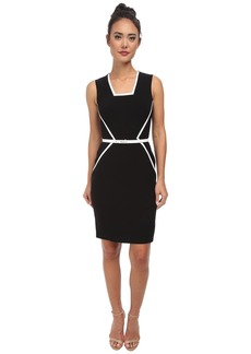 Calvin Klein Color Block Dress CD5X1744