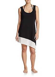 Calvin Klein Colorblock Coverup