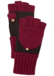 Calvin Klein Colorblock Flip-Top Gloves