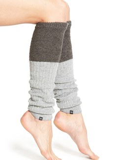 Calvin Klein Colorblock Knit Leg Warmers