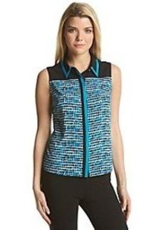 Calvin Klein Colorblock Woven Top