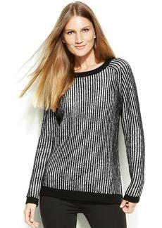 Calvin Klein Contrast-Stitch Sweater