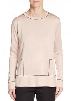 Calvin Klein Contrast Stitch Sweater