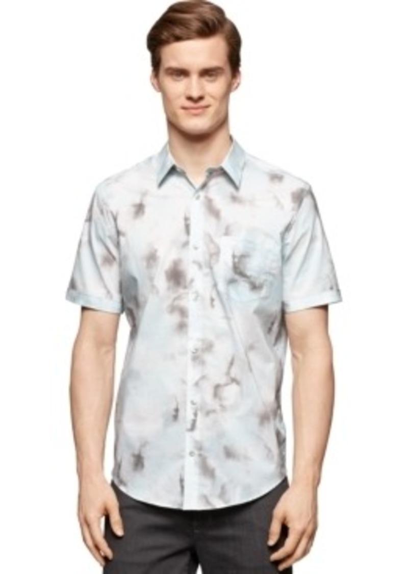 Calvin Klein Calvin Klein Cumulus Print Shirt Casual