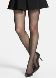 Calvin Klein Diagonal Pattern Sheer Control Top Pantyhose