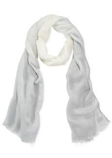 Calvin Klein Dip Dye Lurex® Scarf