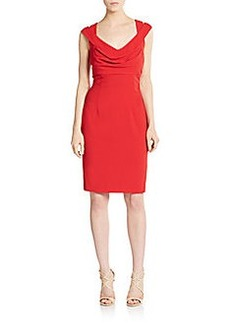 Calvin Klein Double-Crossback Sheath Dress
