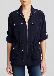Calvin Klein Drawstring Camp Cargo Jacket