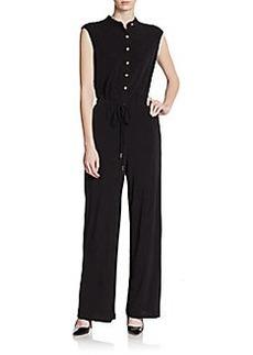 Calvin Klein Drawstring Jersey Jumpsuit