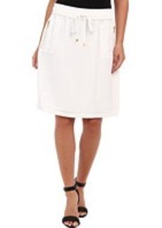 Calvin Klein Drawstring Skirt