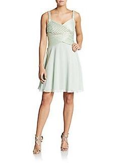 Calvin Klein Sequin-Detail Dress