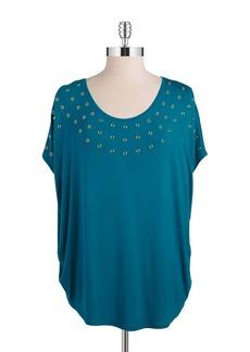 CALVIN KLEIN Embellished Top