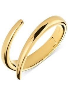 Calvin Klein Embrace Bypass Hinge Medium Bangle Bracelet