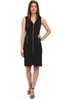 Calvin Klein Fit & Flare Dress w/ Zip