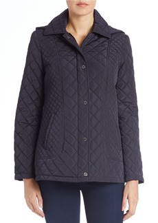 CALVIN KLEIN Fitted Quilted Jacket