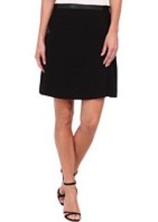 Calvin Klein Flared Skirt w/ Ponte