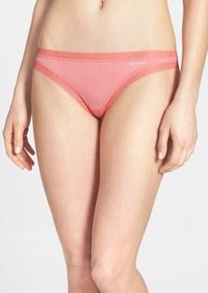 Calvin Klein 'Flourish' Thong