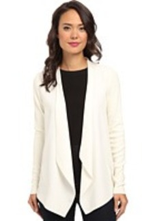 Calvin Klein Flyway Jacket w/ Rib Sleeve