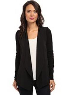 Calvin Klein Flyway Jacket w/ Rib Sleeve