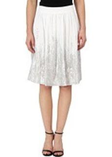 Calvin Klein Foil Print Skirt