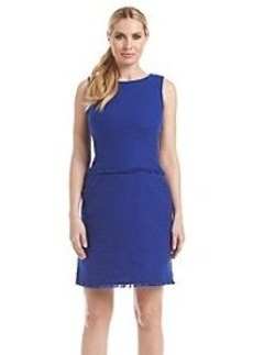 Calvin Klein Frayed Edges Dress