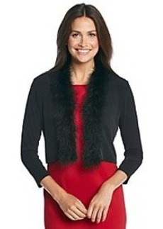 Calvin Klein Fur Neck Shrug