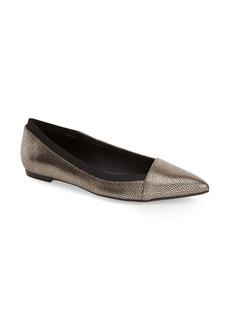 Calvin Klein 'Gerarda' Pointy Toe Ballet Flat (Women)