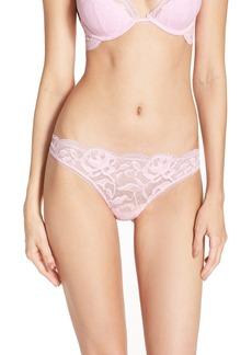 Calvin Klein 'Grace' Lace Thong