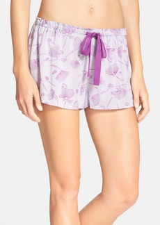Calvin Klein Graffiti Floral Print Sleep Shorts